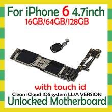 Débloqué pour la carte mère diphone 6 avec/sans identification tactile pour les cartes logiques diphone 6 avec la fonction dempreinte digitale dios