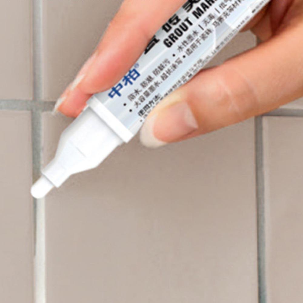 Kitchen Bathroom Accessories Tile Repair Pen Non-toxic Grout Pen Waterproof Bathroom Gap Repair Grout Cleaning Tool