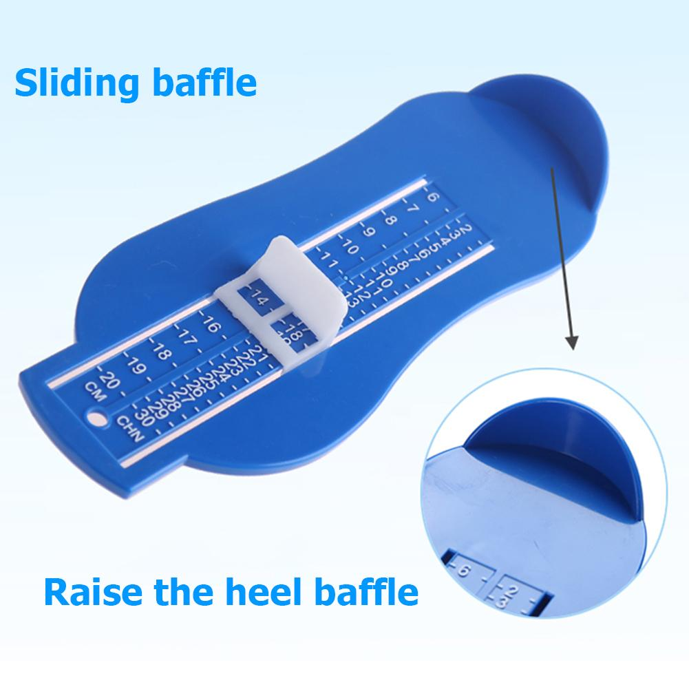 Baby Souvenirs Foot Shoe Size Measure Gauge Tool Device Measuring Ruler Novelty Funny Gadgets Educational Learning Toddler Toys