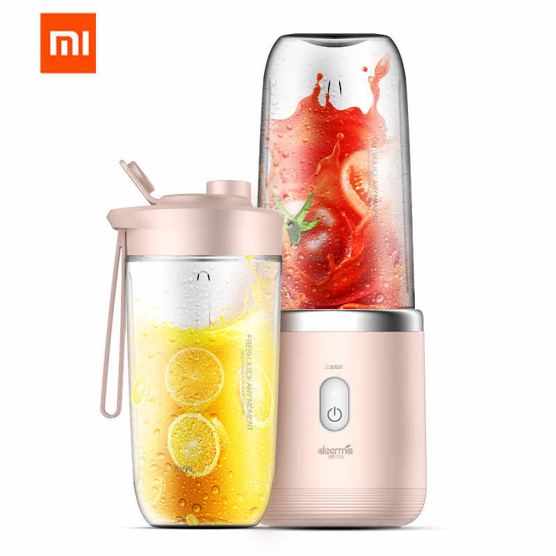 xiaomi Mijia deerma Juicer wireless home automatic fruit and vegetable multi-function mini student juice electric juice machine
