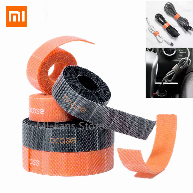 Xiaomi mijia Bcase Manage cable Multi layer Tear off Tape Anti Slip Wires Organizer Sticker Adhesive Strap Multi layer Composite|Smart Remote Control| |  - title=