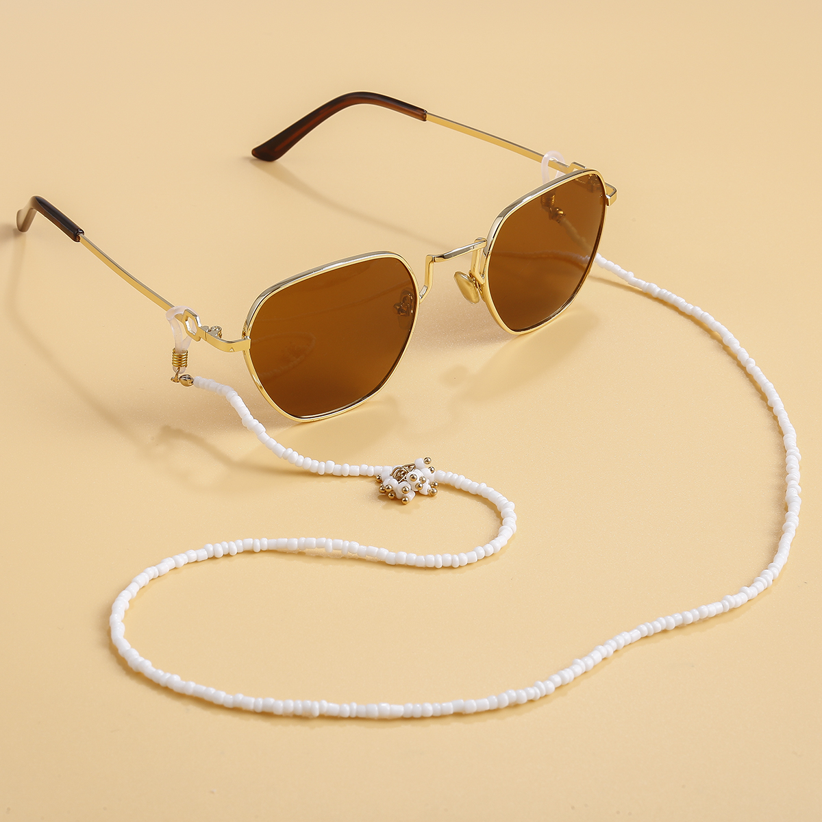2020 Fashion Reading Glasses Rice Bead Chain Sunglasses Spectacles Holder Cord Lanyard Neck Strap Lanyard Glasses Accessories