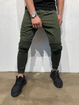 Mężczyźni biegacze spodnie dresowe spodnie z zamkiem błyskawicznym odzież gimnastyczna moda męska spodnie dorywczo spodnie dresowe kulturystyka spodnie do biegania tanie i dobre opinie JACKDISI Sznurek COTTON Pasuje prawda na wymiar weź swój normalny rozmiar Pełnej długości Jogging pants Bieganie M L XL XXL 3XL