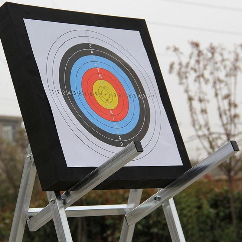 10 Pcs Arrow Target Paper Copper Plate Color Printing Game Darts Practice Target Paper Shooting Target 10 Ring Archery Target