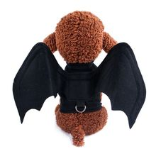 Dog Clothes Halloween Pet Costume Bat Wing Cat Spider Cute Comfortable Cosplay