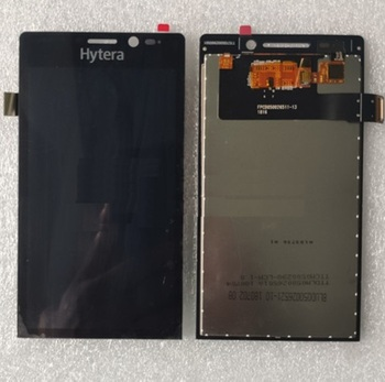 5 inch LCD Display and Touch screen For Hytera PNC550 Intelligent Interphone digitizer panel glass Assembly