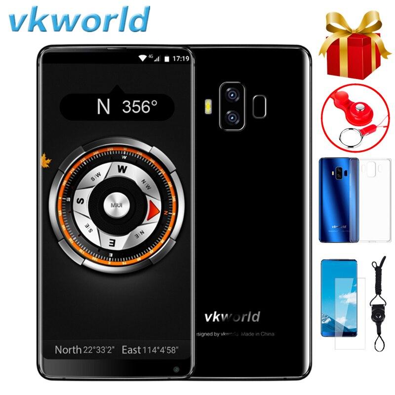 VKworld S8 4G смартфон, экран 5,99 дюймов, Android 7,0, Восьмиядерный, 4 Гб ОЗУ 64 Гб ПЗУ