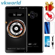 VKworld S8 4G SmartPhone 5.99 cal Android 7.0 MTK6750T Octa Core 4GB RAM 64GB ROM 16,0 mp + 5.0MP podwójne tylne kamery dotykowy czujnik