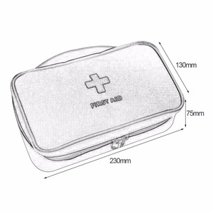 Image 5 - ชุดปฐมพยาบาลสำหรับยากลางแจ้งCamping Medicalกระเป๋าSurvivalกระเป๋าถือฉุกเฉินชุดชุดเดินทางแบบพกพา