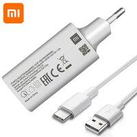 Xiaomi-Cargador rápido QC de la UE, adaptador de alimentación de carga para mi lite, se, 9t, pro, a3, max, redmi Note 8