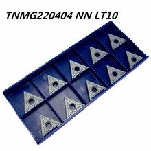 Tungsten Carbide Tools TNMG220404 NN LT10 External Metal Turning Tools CNC Machine Milling Tool Milling Cutter Free Shipping free shipping 20 holes tungsten carbide drawplates hole size 3 10 5 00mm triangle shape draw plate jewelery tools