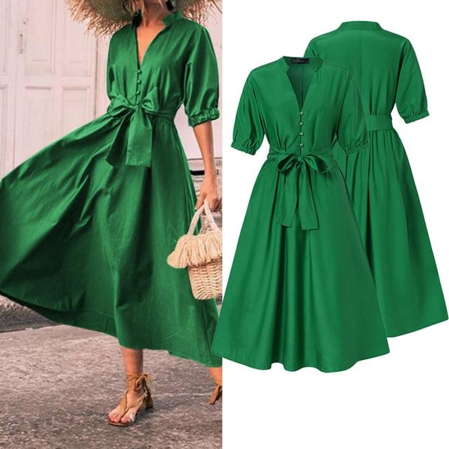 classic belt tye dress, nice bodice, perfect length 1