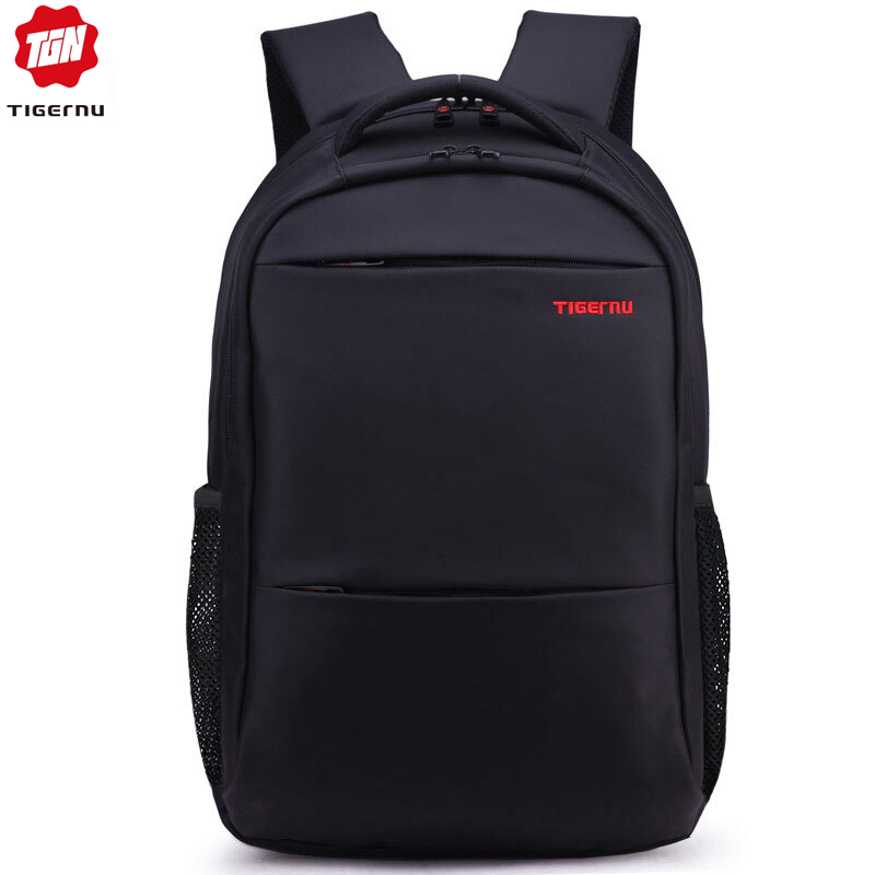 Tigernu Men Women 15-17inch  Backpacks Waterproof Nylon Laptop Backpack Bag Casual Male Mochila School Backpack For Teens