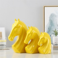 Yellow three-piece
