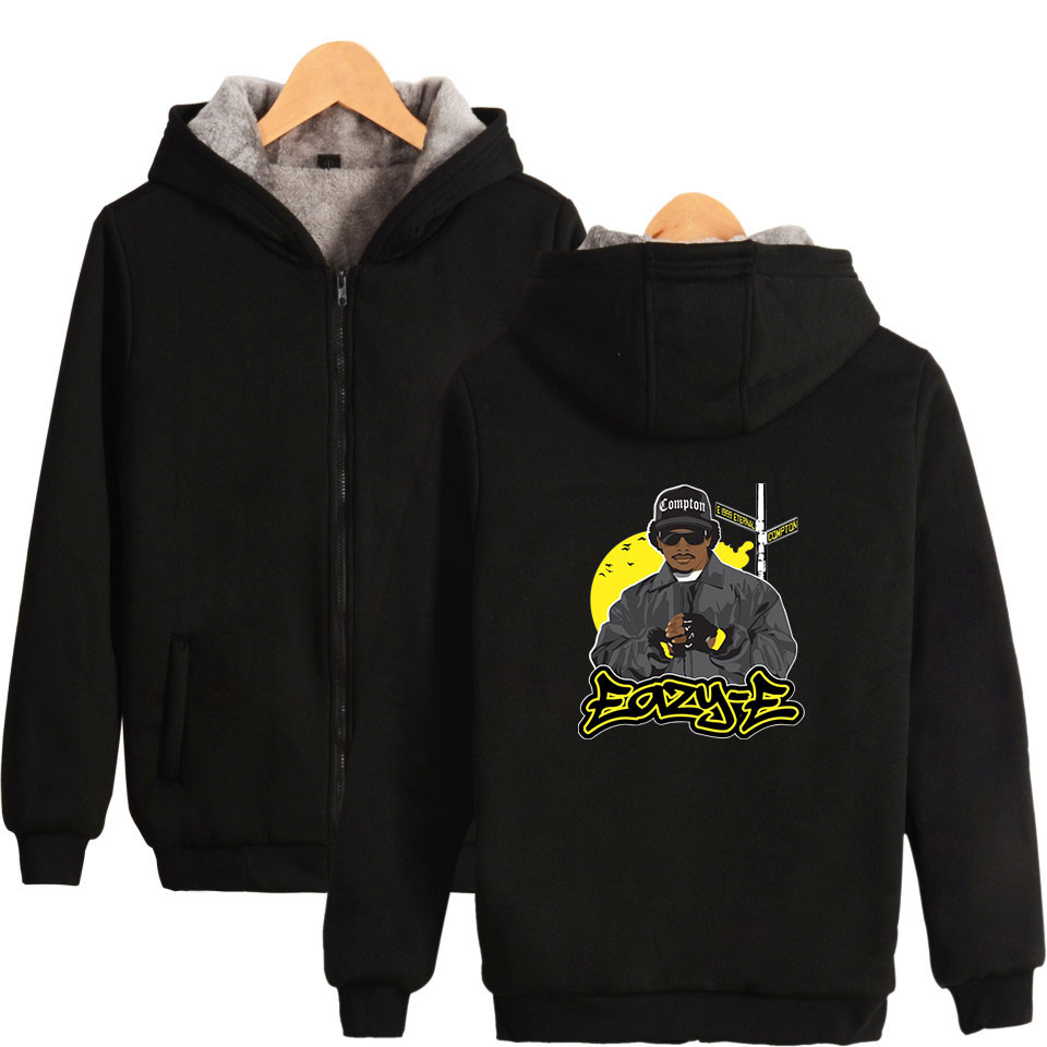 19 Eazy-E zipper Parkas men think parkas Plus Size Winter Hip Hop Clothes Casual Warm Eazy-E zipper cost Winter wear 4