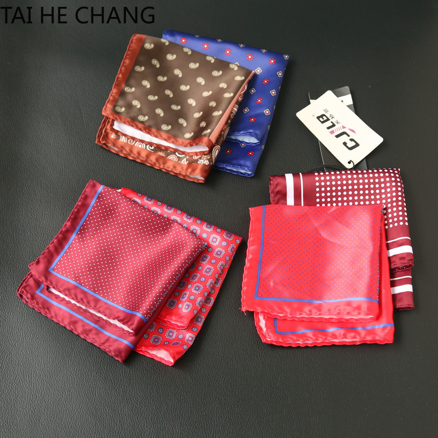 10pcs/lot 23colors Can Choice New Korean Fashion Designer High Quality Pocket Square Handkerchief Men's Business Suit Pocket