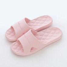 2020 домашние тапочки женщин тапочки женский летний крытый пар домашней ванной комнаты пляжном Повседневная обувь противоскользящим мягкая тапочка