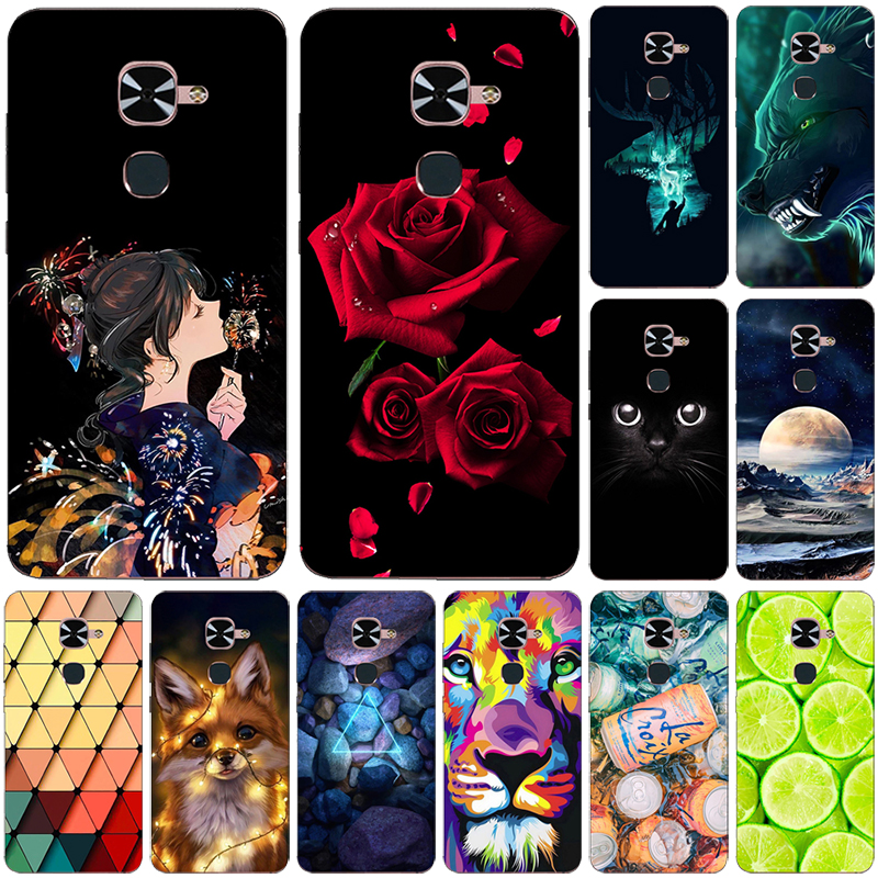 Fashion Printed <font><b>Case</b></font> For <font><b>Letv</b></font> <font><b>LeEco</b></font> <font><b>Le</b></font> <font><b>S3</b></font> Lte 4G Helio X20 X626 <font><b>X522</b></font> X622 Cover Cool Animal Fruit soft silicone Phone <font><b>Case</b></font> Shell image