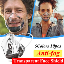 Mascarillas – masque de protection Transparent pour adultes, bouclier buccal, une Alternative radiale, respirateur Transparent, masques transparents en plastique