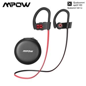 Image 1 - Mpow alev S Bluetooth 5.0 kulaklık aptx hd kablosuz kulaklıklar ile 12H oynatma IPX7 su geçirmez spor kulaklıklar iOS android