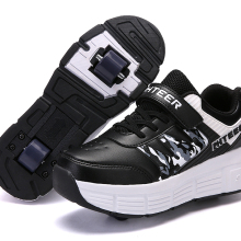 EUR 31-42 Children Junior Roller Skate Shoes Kids Sneakers With One/Two heelies