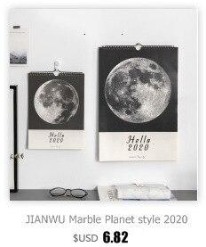 JIANWU милые Мультяшные животные настольный мини-календарь, школьный офис, кавайный планировщик, Настольный календарь