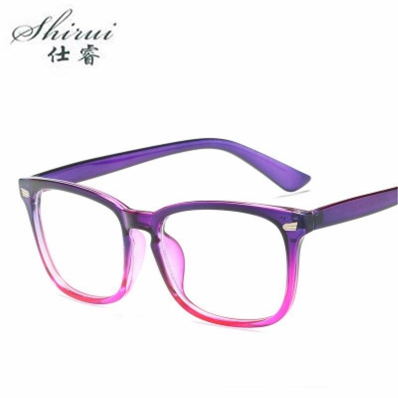 Rectangle Eyewear Retro Fake Glasses Eyeglasses Frame for Men Clear Glasses Spectacles Optical Eye Glasses Frames for Women