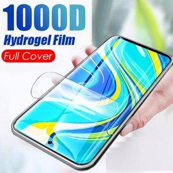 Перейти на Алиэкспресс и купить Гидрогелевая пленка для Vivo S1 Pro SD665 675 Y93s Y3 Y93, стандартная серия, полное покрытие, изогнутая Защитная пленка для экрана, не закаленное стекло