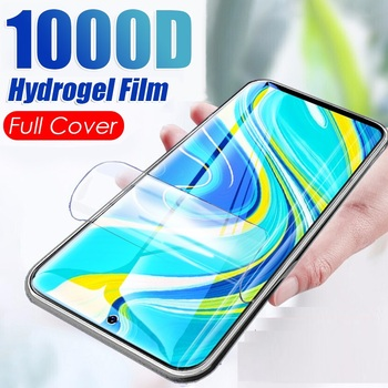 Перейти на Алиэкспресс и купить Закаленное гидрогелевое покрытие для Vivo X27 Pro 128 ГБ 256 ГБ полное покрытие изогнутое защитное стекло не закаленное стекло