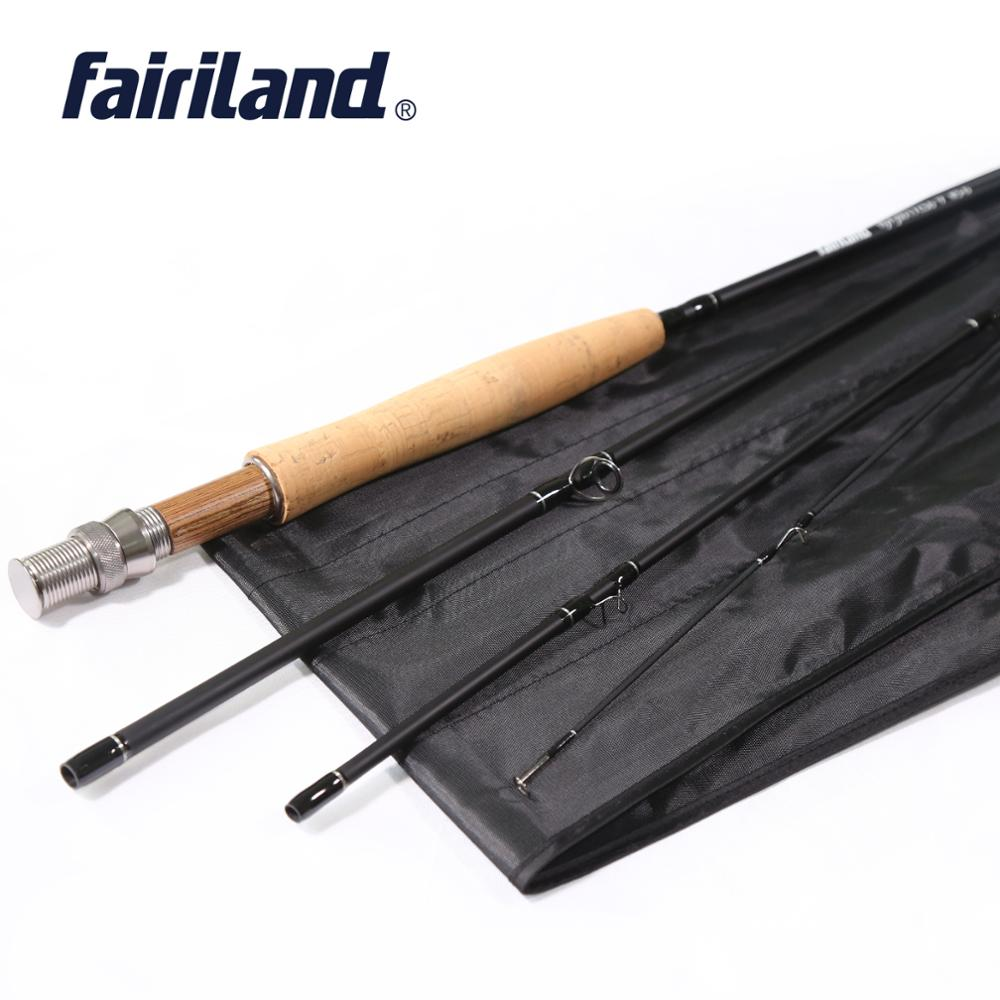 9ft/2.7M 4 Sections 5/6 Carbon Fly Fishing Rod 1
