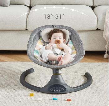 Baby rocking chair comfort Chair Baby electric cradle newborn reclining chair baby rocking chair baby electric rocking chair to appease the cradle bed children s dining chair rocking chair with remote cont