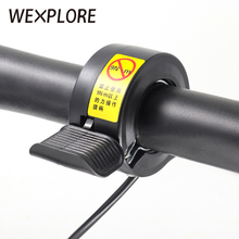 Genuine wuxing e-bike thumb throttle for electric scooter 130x ebike and accessories