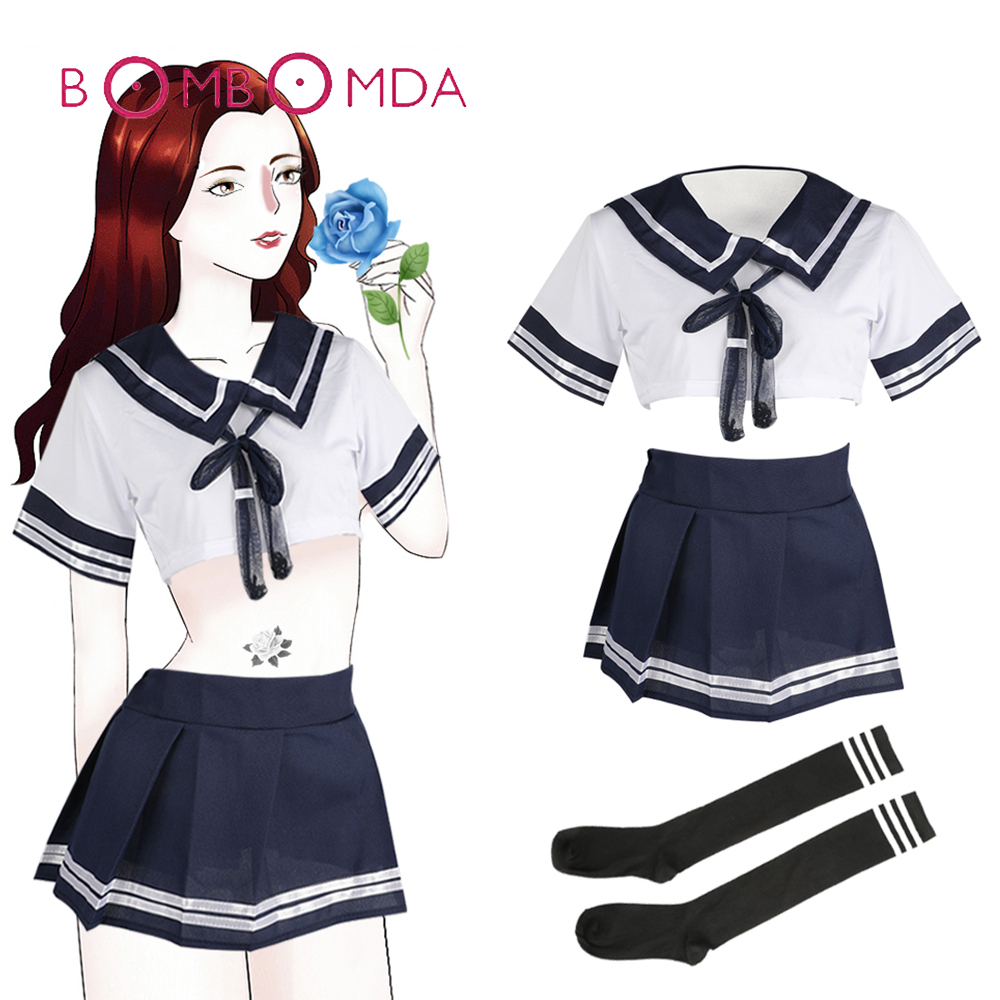 Sexy Uniform Lingerie Erotic Cosplay <font><b>Adult</b></font> Games <font><b>Adult</b></font> <font><b>Sex</b></font> Products For Women <font><b>Sex</b></font> Costumes Role Play <font><b>Clothes</b></font> Temptation Dress image