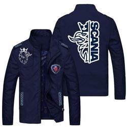 2021 Boutique Men's Jackets Spring Fall Fashion Slim Coat Men's Casual Baseball Motorcycle Jacket Zipper Men's Jacket Size M-5XL