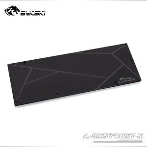 Image 5 - Bykski para/edição de referência rx 5700 xt/5700xt gpu bloco de água amd gpu cartão/cobertura completa cobre radiador bloco de água de refrigeração