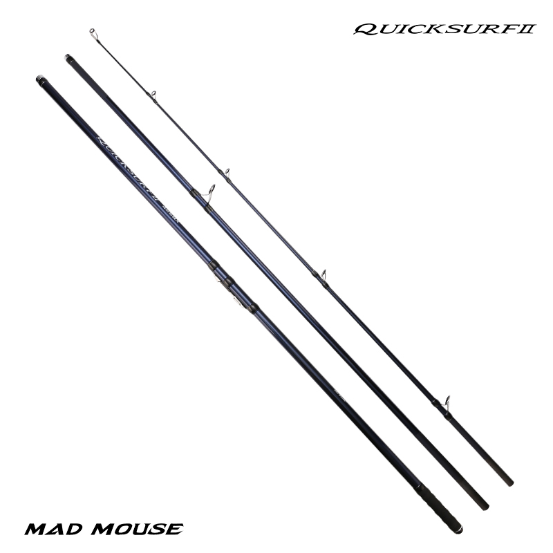 MADMOUSE 2020 NEW Model QUICK SURF Japan Quality Full Fuji Surf Rod 4.25M 46T high-carbon 3 Sections BX Surf casting rods-1