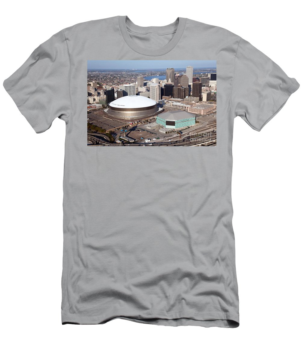 Aerial Of New Orleans Louisiana Men'S T-Shirt image