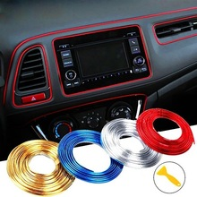 Strip Dashboard Decoration Auto-Accessories Car Interior Door 5M Air-Outlet