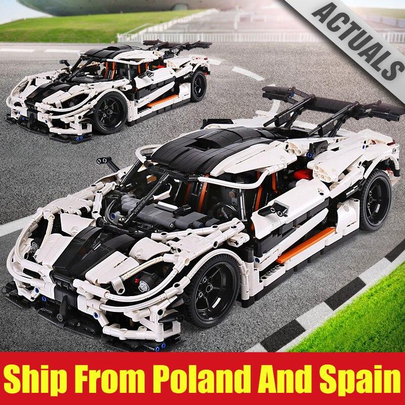 DHL 23002 Technic Series Compatible avec le changement de MOC 4789 vitesse voiture modèle ensembles blocs de construction briques voiture modèle jouets pour garçons-in Blocs from Jeux et loisirs    1