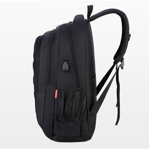 "Image 2 - Crossten Business Travel Laptop Backpack, Large Capacity School Bag, USB Charger Port, 15"" Computer Business bag, Waterproof EVA"