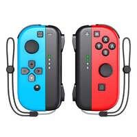 OIVO Interruttore Gioia Con Controller per Nintendo Joystick Senza Fili Joycon L/R 2 Periferiche e Controller per Videogiochi Interruttore Accessori Controller Cinturino Da Polso