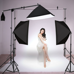 Image 5 - สตูดิโอถ่ายภาพSoftbox Lighting KitสำหรับVideoและYouTubeแสงต่อเนื่องระดับมืออาชีพชุดPhoto Studio