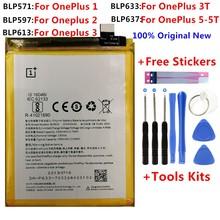 100 oryginalna wymienna bateria do Oneplus one 1 + One plus do OnePlus 2 3 1 + 3 One Plus 3 3T 5 5T jakość akumulatorów litowo-jonowych tanie tanio VBNM 2801 mAh-3500 mAh Oryginalny MEPS Onelpus BLP571 BLP597 BLP613 BLP633 BLP637