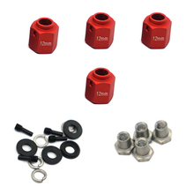 4Pcs RC Crawler Hexagonal Thickening Model Car Combiner Wheel Hubs Widening For TRX-4