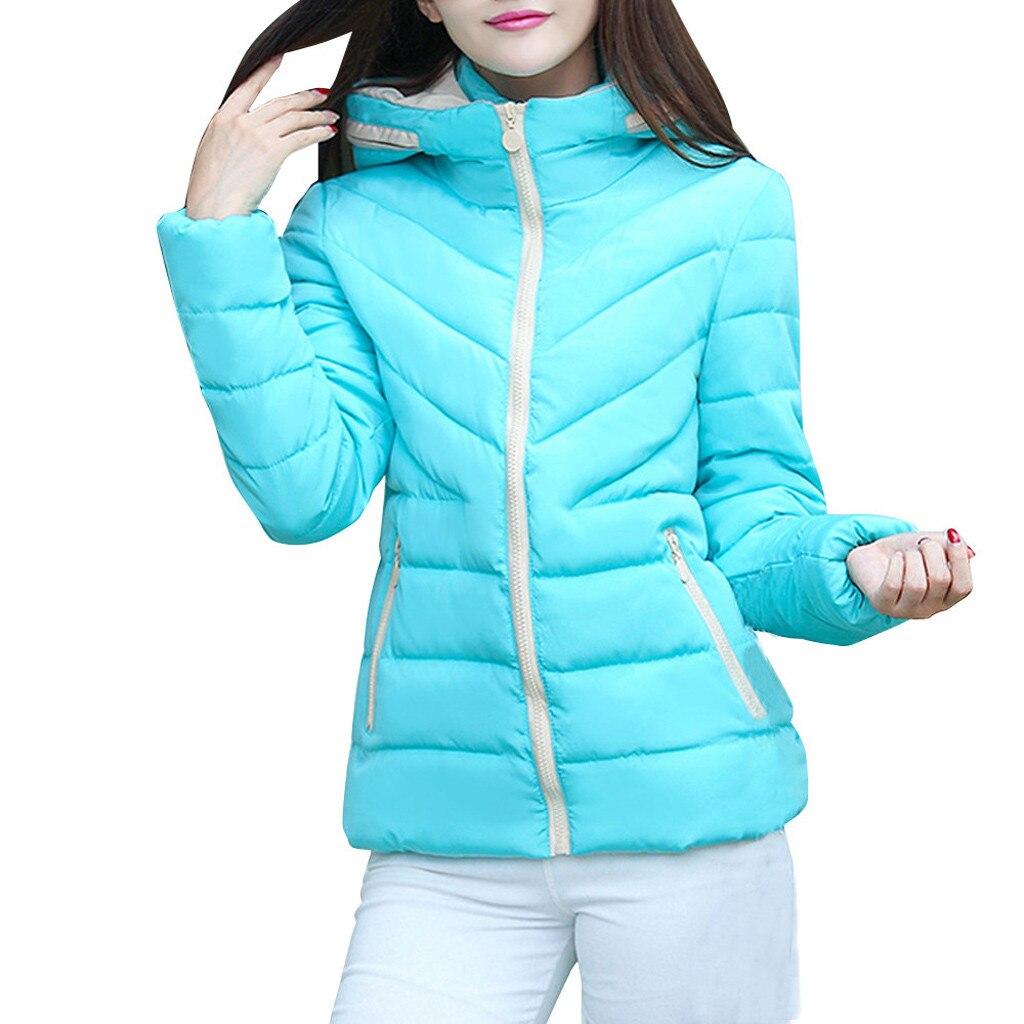 Hf238f69388de432bb75f0c7cabaf1d31L fashion Women's Jackets Hooded Thickening Slim Outwear Winter Warm Casual Short Jacket Women Coat Outwear Tops