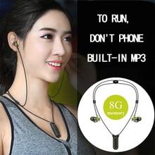 Mifo I2 Bluetooth neckband earphones Built-in 16GB Mp3 Wireless Headphones Player IPX8 Waterproof Sports Earphone with Mic