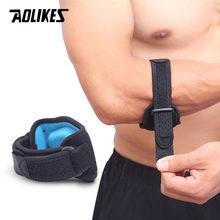 Faixa ajustável do cotovelo aolikes, apoio para dor lateral, para basquete, tênis, badminton, golfer, 1 peça