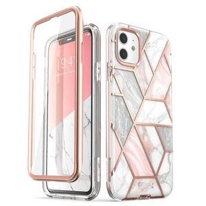 Image 1 - Tôi Blason Cho Iphone 11 6.1 inch (Phát Hành năm 2019) cosmo Toàn Cơ Long Lanh Đá Cẩm Thạch Ốp Lưng Bao Da với Tích Hợp Bảo Vệ Màn Hình