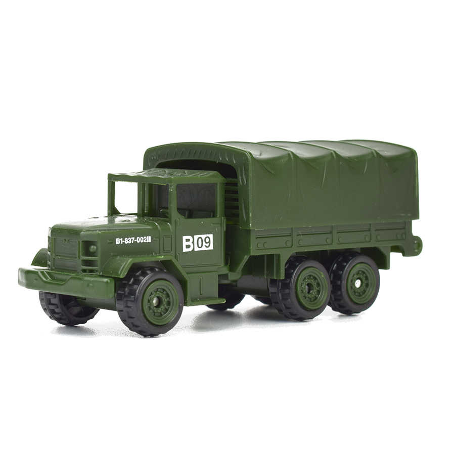Diecast 6 Gaya Mini Kendaraan Militer Paduan Tank Tentara Model Mainan untuk Anak Plastik Meluncur Mobil Truk Mainan Anak Hadiah untuk Anak Laki-laki