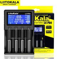 Liitokala Lii PD4 Lii 500 Lii 500S 18650 carregador de bateria display lcd para 18650 21700 26650 aa aaa etc capacidade de teste de bateria Carregadores     -